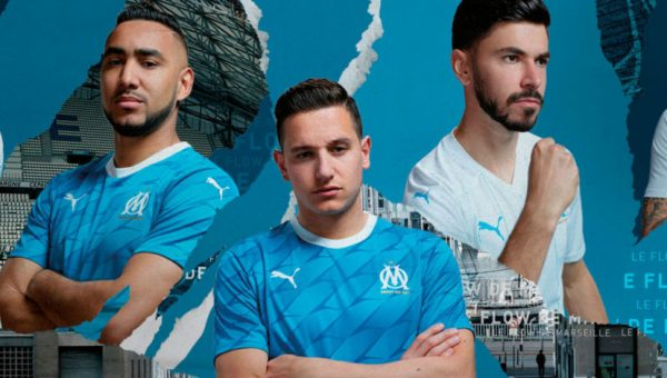 Replica camiseta de futbol Olympique Marsella barata 2019 2020