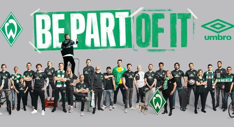 Replica camiseta de futbol Werder Bremen barata 2019 2020