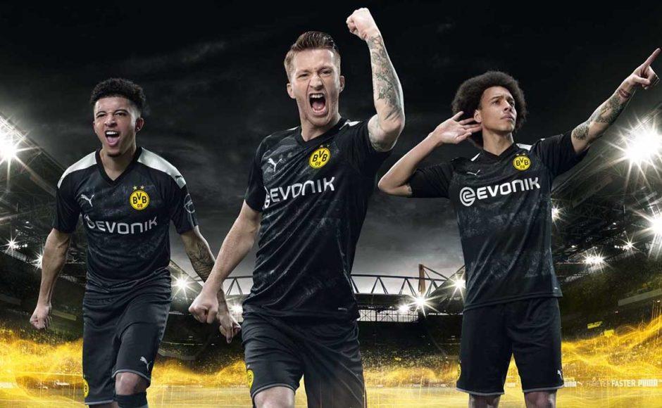 replica camiseta de futbol Borussia Dortmund barata 2019 2020