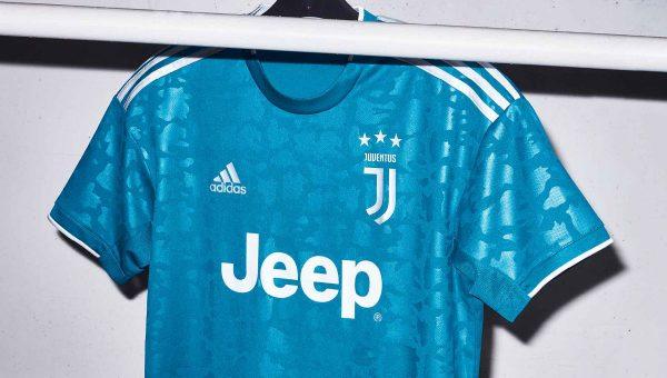 Replica camiseta de futbol Juventus barata 2019 2020 Tercera