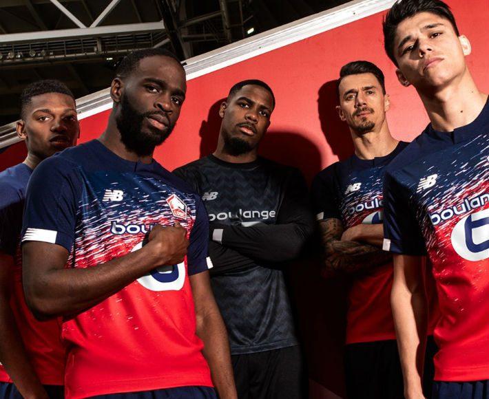 Replica camiseta de futbol Lille barata 2019 2020