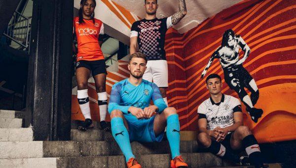 Replica camiseta de futbol Luton Town barata 2019 2020