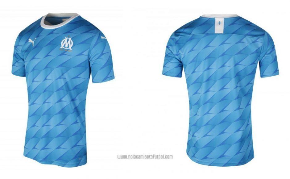 Replica camiseta de futbol Olympique Marsella barata 2019 2020 Segunda y Tercera