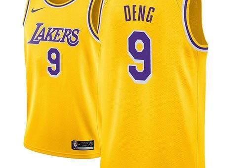 Camiseta Los Angeles Lakers Luol Deng NO 9