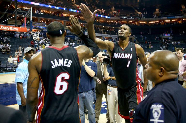 "Chris Bosh, sobre la salida de LeBron de los Heat: ""Al principio me ofendí"""