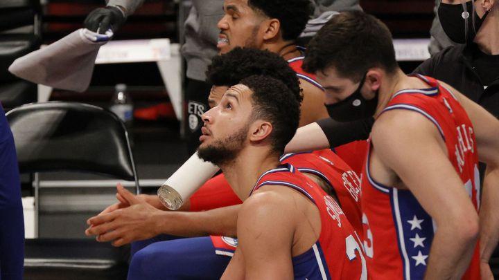 Los 76ers solo tienen ocho jugadores para lidiar con los Nuggets