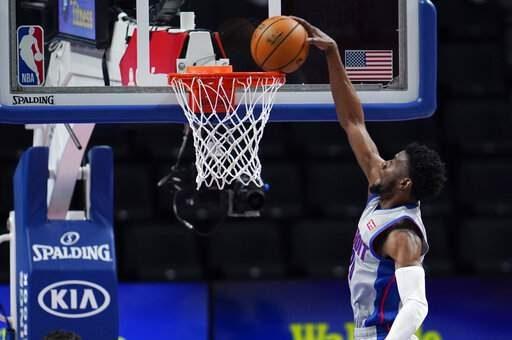 Los 31 puntos de Josh Jackson hacen que los Pistons superen a los Wizards